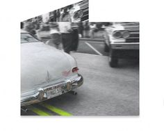 Dynomighty Artist Collective: CRUISING  IN THE '50 MERC by Michael Ledwitz CRUSING IN MY '50 MERCURY DOWN THE BOULVARD