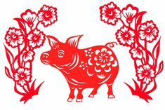 What 2018 Has in Store for You, Based on Your Chinese Zodiac Sign Chinese New Year Decorations, New Years Decorations, Chinese Zodiac Signs, Feng Shui, Paper Cutting, Animals And Pets, Rooster, Clip Art, Cats