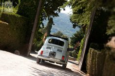 Vintage Fiat 500 - It seemed spacious when I was younger and living in Italy!