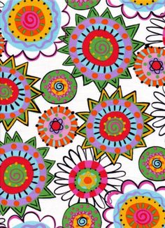 Fiesta fabric line for Camelot by Dori Patrick/Dreaming Bear Designs