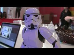 Star Wars toys unveiled at Disney Store headquarters Star Wars Toys, Video Clip, Stars, Disney, Character, Sterne, Videos, Lettering, Star