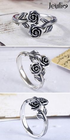 Handmade Jewelry Sizeable Best Gift for Girls Black Onyx Silver Plated 4 Grams Ring 5.5 US