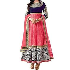 Ustaad Womens Georgette Net Dress Material Bollywood Designer Anarkali Suit http://www.amazon.com/Ustaad-Georgette-Material-Bollywood-Designer/dp/B0164BPQN4/ref=sm_n_ma_dka_US_pr_pub_1_0?imprToken=BgpnAG1jzxGprPLDKwDA9A&linkCode=w43&tag=ritaann-20&linkId=43a1ae5896b800ecbdd24e53590123db #india #dress #bollywood