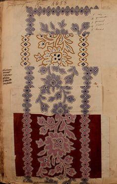 Maison Robert textile sample book, 1863.