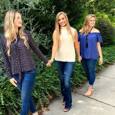 Great day shooting with these ladies in some of our fall clothes! Come check out what's new