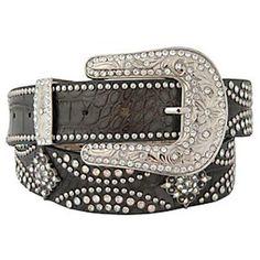 Nocona Women's Concho Croc Print Leather Western Belt Black Medium Nocona Boots http://www.amazon.com/dp/B0080S9WO4/ref=cm_sw_r_pi_dp_XusBub0JTT0KR
