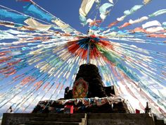 Tibet prayer flags - come grab a few at our LBC location!