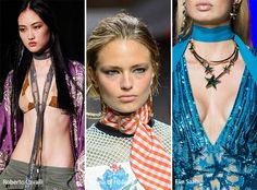 Spring/ Summer 2017 Accessory Trends: Skinny Scarves