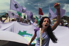 National Meeting of Rural Women, in Brasilia, Brazil