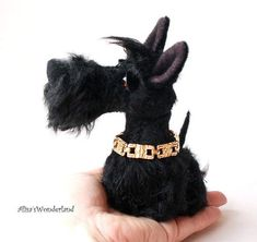Scottish Terrier Mr.Scottie by By Alisa Shangina | Bear Pile