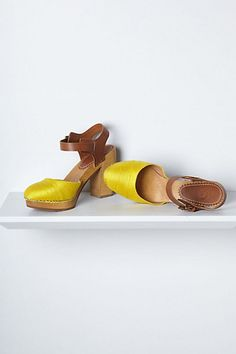 #anthropologie - silk shoes <3