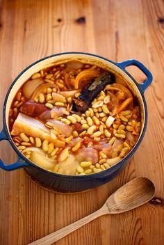 Potaje de verdinas, receta asturiana