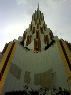 The intricately designed La Luz del Mundo Templo or The Light of the World Temple in Guadalajara is said to  be the largest non-Catholic house of worship in Latin America