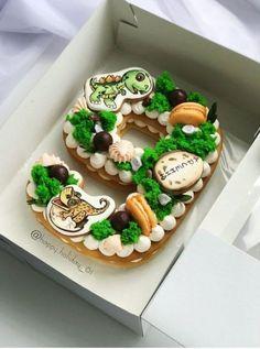 New Birthday Cake Boys Dinosaur Kids 65 Ideas Birthday Cake Decorating, Cookie Decorating, Cake Cookies, Cupcake Cakes, Unicorne Cake, Beautiful Cakes, Amazing Cakes, New Birthday Cake, Birthday Candy