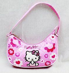 8f6b6bfec90c Handbag Hello Kitty Pink Flower Bow New Hand Bag Purse Girls 84019     Check