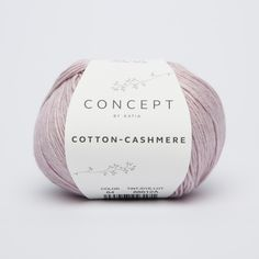 Silky soft yarn to knit or crochet women's waistcoats and summer tops. A mix of satinized cotton in soft tones which are perfect for baby cardigans and toddler's jumpers. The cashmere in Cotton-Cashmere makes it ideal for between season Cotton - Cashmere Crochet Woman, Knit Or Crochet, Crotchet, Cashmere Color, Cashmere Yarn, Aqua Rose, Royal Crown Derby, Winter Springs, Arts And Crafts