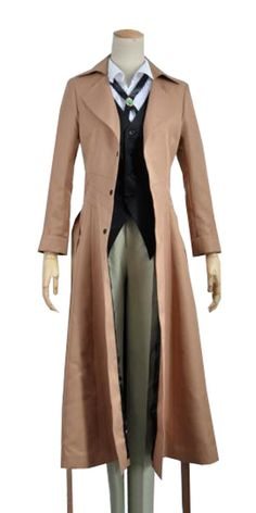 Onecos Anime Bungo Stray Dogs Osamu Dazai Uniform Cosplay Costume *** Want to know more, click on the image.