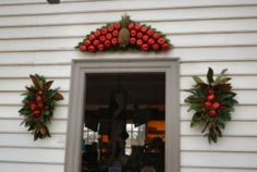 out of the kitchen and onto the door williamsburg virginia holiday decorations life and real estate on the eastern shore of virginia