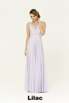 The Satin Wrap Gown can be worn in over 15 different ways so that women of.  Bridesmaid ... 256725ded6b8