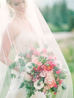 Gorgeous under the veil shot by Connie Whitlock ~ we ❤ this! moncheribridals.com