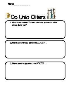 Ms Sepp S Counselor Corner Do Unto Otters Sw