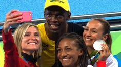 Jamaica's Usain Bolt became the first athlete to win three Olympic 100m titles by beating American Justin Gatlin to gold at Rio 2016.  Bolt, 29, ran 9.81 seconds in his final Olympics to replicate his success at Beijing 2008 and London 2012.  Twice banned for doping offences, Gatlin was 0.08 seconds behind Bolt, with Canada's Andre de Grasse in third.