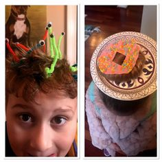 Super easy and super fun Crazy Hair Day ideas