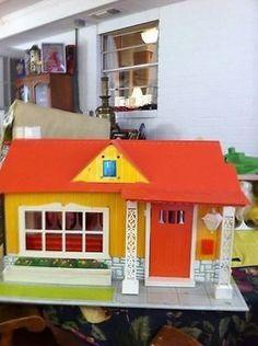 Vintage Remco Heidi Magic Garden and House   #517936055