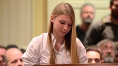 15 year old girl leaves anti-gun politicians speechless She Nails It!!  This is not about Gun Control Folks It is About People Control...You & Me The American People Being Controlled by this Rogue Government!!!