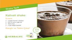 Herbalife Shake Tarifleri / Kahveli Shake