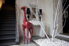 DIY Girafe en décopatch