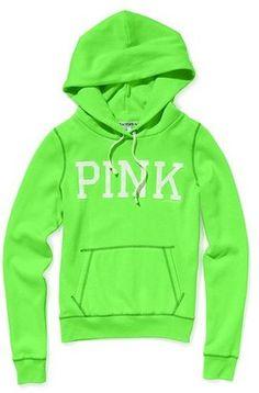 ShopStyle: Victoria's Secret Pink® Signature Zip Hoodie