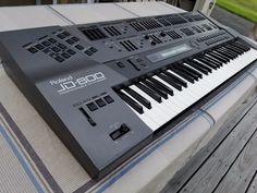 MATRIXSYNTH: Roland JD-800 Synthesizer Keyboard SN ZC56112
