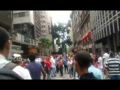 Povo coloca militontos petistas pra correr no centro de SP