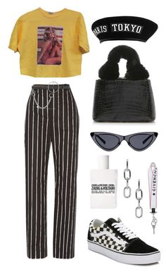 Untitled A fashion look from July 2017 by mimiih featuring Balenciaga, Vans, Nancy Gonzalez, Alexander Wang, Givenchy and McQ by Alexander McQueen Look Fashion, 90s Fashion, Korean Fashion, Fashion Outfits, Womens Fashion, Skull Fashion, Funky Fashion, Fashion Weeks, Lolita Fashion