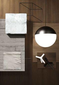 Cedit Metamorfosi Colour Pallete, Colour Schemes, Wabi Sabi, Mood Board Interior, Interior Ideas, Ideal Standard, Small Condo, Material Board, Japanese Interior