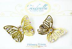 Cinderella 2015 Glass Slipper Butterflies por wickedandwonder