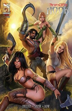 Grimm Fairy Tales Presents: Neverland - Hook #5 Cover A #NeverlandHook #GFT #Zenescope