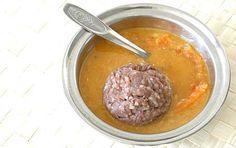 Ragi Mudda (Ragi Porridge / Ragi Sankati) in Carrot Sambhar Ragi Recipes, Healthy Recipes, Andhra Recipes, Carrots, Food, Healthy Eating Recipes, Healthy Diet Recipes, Meals, Healthy Cooking Recipes