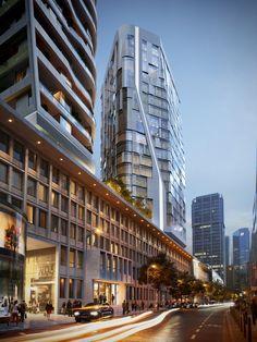 Gallery of UNStudio Reveals New Renderings of Massive Frankfurt Skyscraper Development - 4