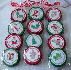 Holiday chocolates or cute tags