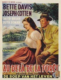 BEYOND THE FOREST MOVIE POSTER Bette Davis VINTAGE 2 in Entertainment Memorabilia   eBay