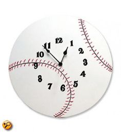 Wall Clock Baseball Baby Bedding And Accessories By Trend Lab