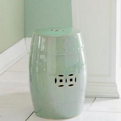 Love garden stools for use in the home. Side table...