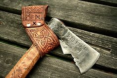 Dwarven Axe 6 by Cedarlore Forge, via Flickr