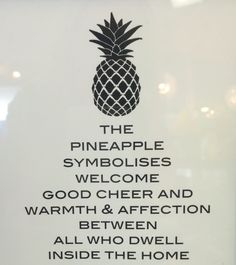 Pineapple meaning
