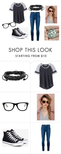 """""""TW R"""" by sosic100 ❤ liked on Polyvore featuring West Coast Jewelry, prAna, Muse, A.J. Morgan, Converse and Frame"""