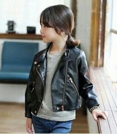 ecd9cc6377db DreamShining Girls Jacket Spring Children Clothes Outwear For Baby Girl  Clothing Long Sleeve Coats Costume Kids Leather Jackets