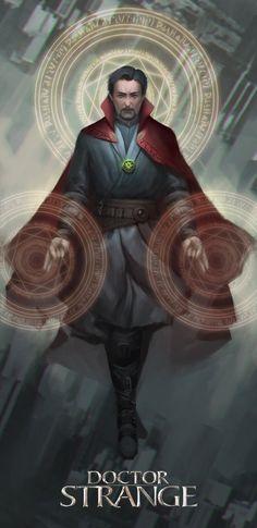 Doctor Strange by erickefata.deviantart.com on @DeviantArt