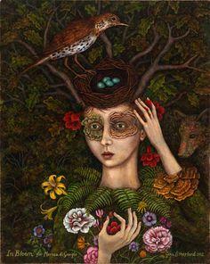 In Bloom (for Marosa di Giorgio) 2012  by Gina Litherland